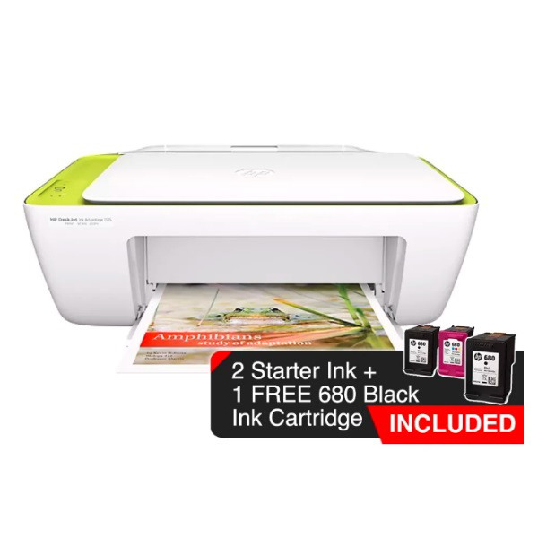Picture of HP DESKJET 2135 ALL IN ONE PRINTER (BUNDLED FREE EXTRA BLACK INK) 7GE65B