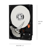 "Picture of WD CAVIAR BLUE 1TB 3.5"" INTERNAL HARD DRIVE WD10EZEX"