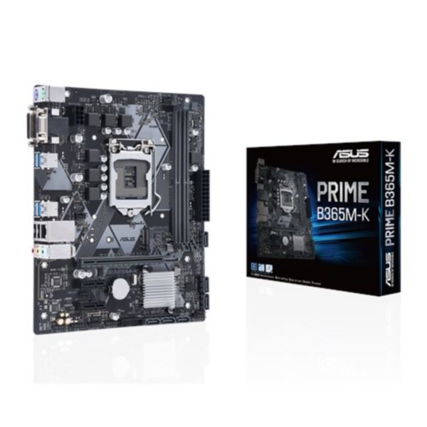 Picture of ASUS INTEL B365 S1151 MOTHERBOARD MAINBOARD PRIME B365M-K