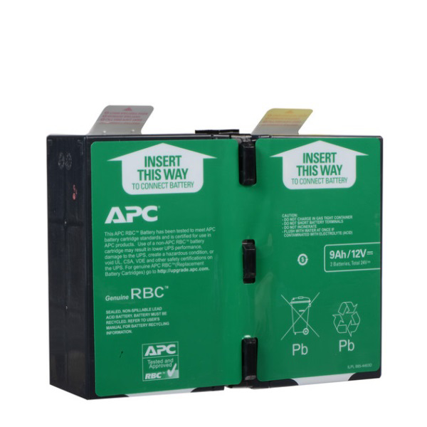 Picture of APC APCRBC124 REPLACEMENT BATTERY