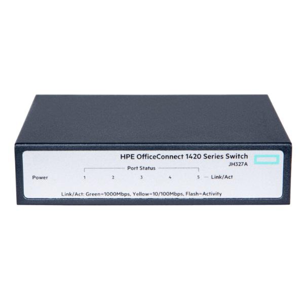Picture of HP HPE OC 1420 5PORT GIGABIT SWITCH